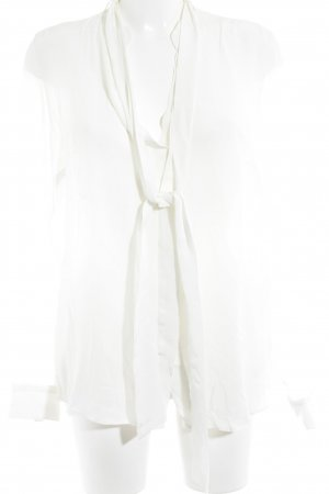 0039 Italy Silk Blouse natural white business style