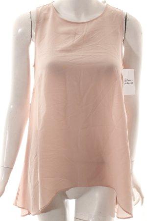 0039 Italy Seidentop rosé Casual-Look
