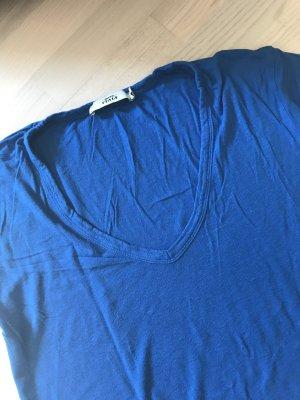0039 Italy Shirt Größe M Royalblau