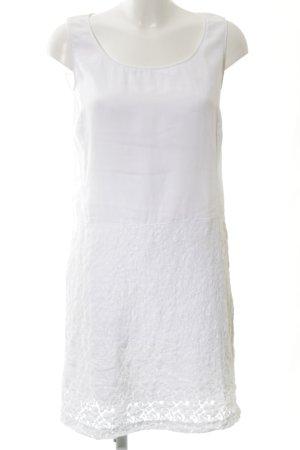 0039 Italy Robe en dentelle blanc style décontracté