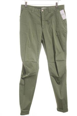 0039 Italy Stoffhose khaki schlichter Stil