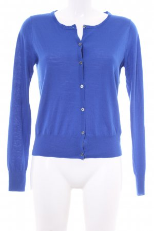 0039 Italy Strickjacke blau Casual-Look