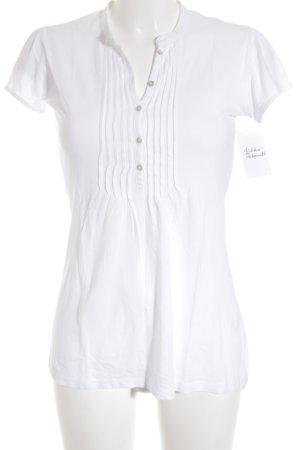 0039 Italy T-Shirt weiß schlichter Stil