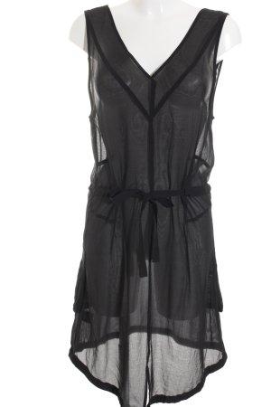 0039 Italy Trägerkleid schwarz Elegant