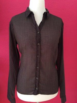 0039 Italy transparente Bluse aus zartem Baumwollstoff