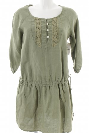 0039 Italy Tunic Dress sage green casual look