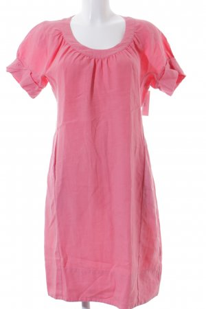 0039 Italy Tunic Dress magenta casual look