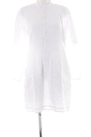0039 Italy Vestido tipo túnica blanco elegante