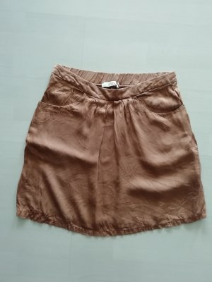 0039 Italy Silk Skirt rose-gold-coloured