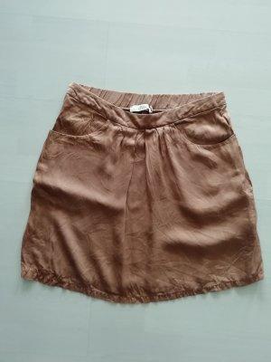 0039 Italy Silk Skirt rose-gold-coloured