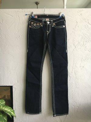 020 - True Religion Billy Super T Gr. W 27 in dunkelblau