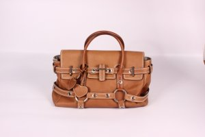 Luella Carry Bag camel leather