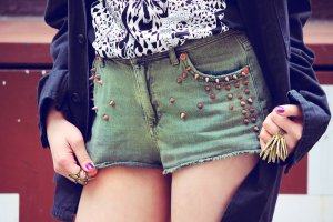 Topshop Jeans-Shorts