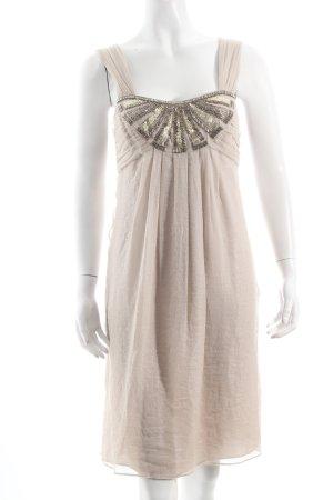 1-2-3 Paris Abendkleid hellbeige Romantik-Look