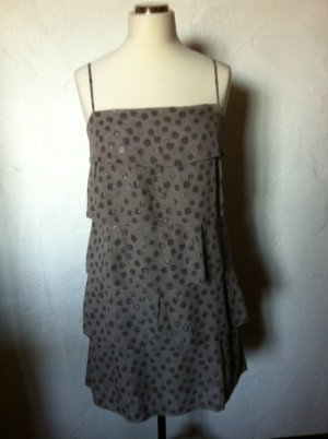 1.2.3 Paris Pinafore dress multicolored silk