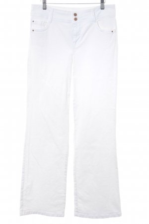 1.2.3 Paris Boot Cut Jeans weiß Boho-Look