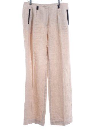 1.2.3 Paris Pleated Trousers beige-black beach look