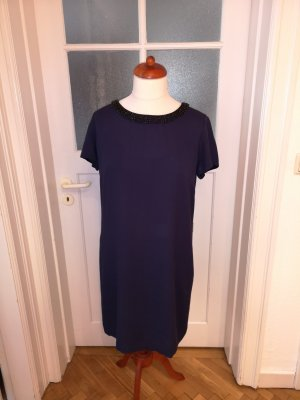 1.2.3 Paris Cocktailjurk donkerblauw Viscose