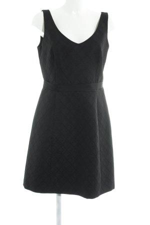 1.2.3 Paris Cocktail Dress black abstract print elegant