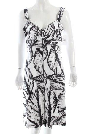 1-2-3 Paris Cocktailkleid schwarz-weiß Eleganz-Look