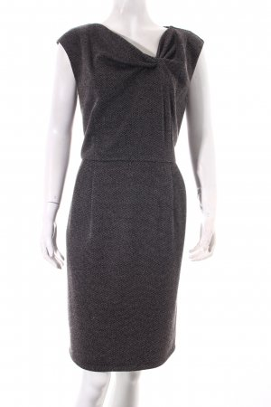 1-2-3 Paris Sheath Dress black-white elegant
