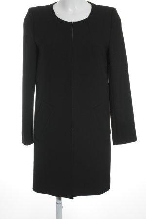 1-2-3 Paris Geklede jas zwart elegant