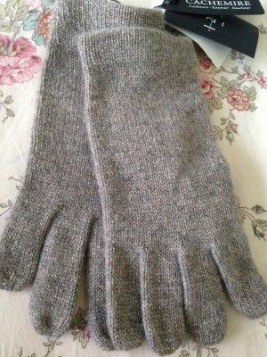 1°2°3 Paris Handschuhe grau Kaschmir Neu