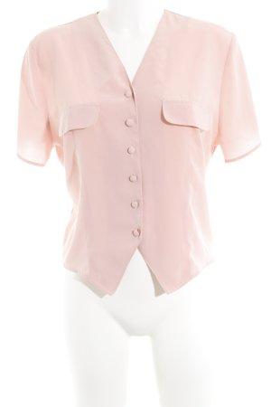 1.2.3 Paris Camicia blusa rosa pallido stile casual