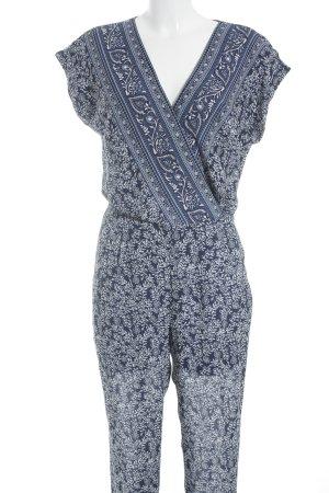 1.2.3 Paris Jumpsuit florales Muster extravaganter Stil