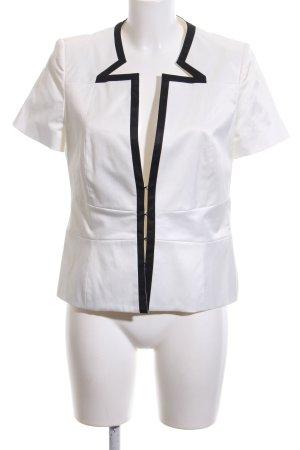 1.2.3 Paris Veste courte blanc-noir style décontracté