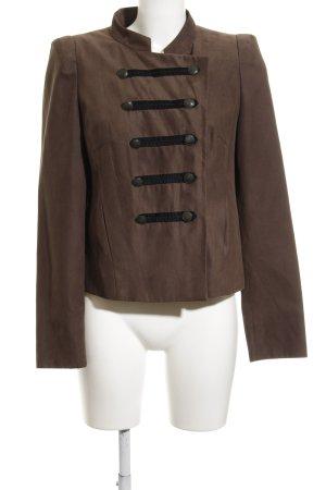 1.2.3 Paris Short Jacket dark brown college style