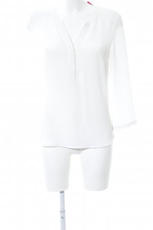 1.2.3 Paris Long Sleeve Blouse white business style