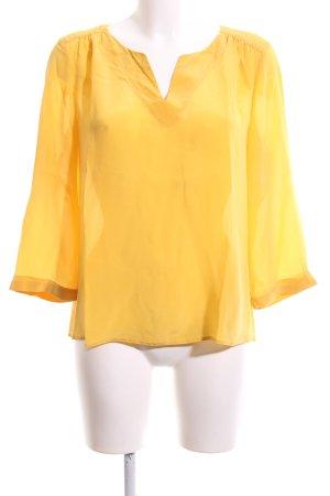 1.2.3 Paris Langarm-Bluse blassgelb Casual-Look