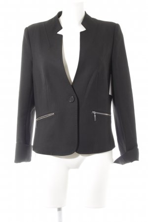 1.2.3 Paris Long-Blazer schwarz Business-Look