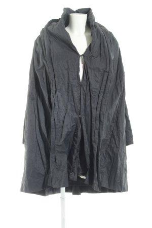 1.2.3 Paris Heavy Raincoat dark blue casual look