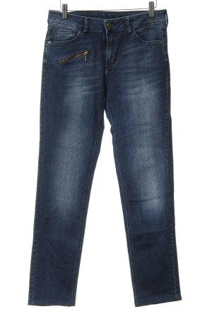 1.2.3 Paris Slim Jeans dark blue casual look