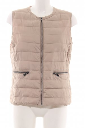1.2.3 Paris Quilted Gilet cream quilting pattern casual look