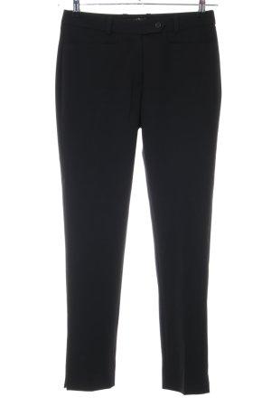 1.2.3 Paris Pantalon en jersey noir style d'affaires
