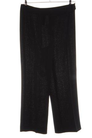 1.2.3 Paris Pantalon en jersey noir style décontracté