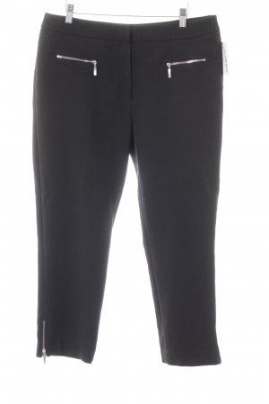1.2.3 Paris Pantalone jersey nero stile professionale