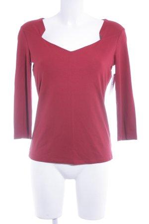 1.2.3 Paris Sweat Shirt brick red casual look