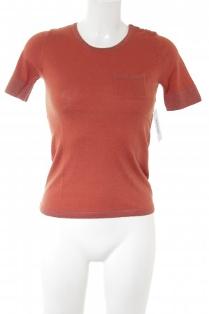1.2.3 Paris Camiseta naranja oscuro look casual