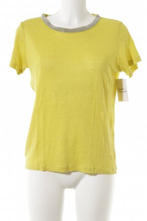 1.2.3 Paris Camiseta amarillo neón look casual