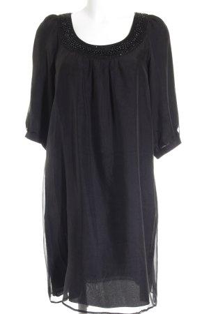 1-2-3 Paris Tunikakleid schwarz Elegant