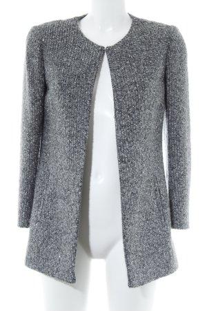 1.2.3 Paris Übergangsmantel grau-schwarz meliert Street-Fashion-Look