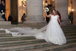 Robe de mariée blanc acétate