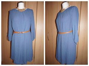 #1 NEU Elegantes Kleid Gr. 38 graublau