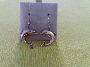 1 Paar Ohrhänger Delfin