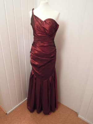 One Shoulder Dress multicolored polyester