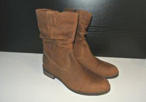 Low boot brun